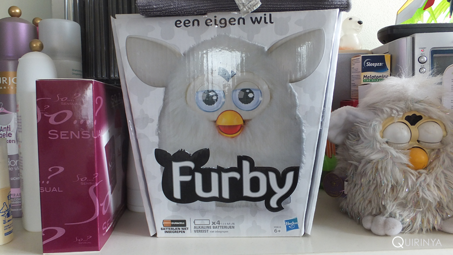 New Furby's box.